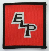Emerson, Lake and Palmer - 'ELP' Woven Patch